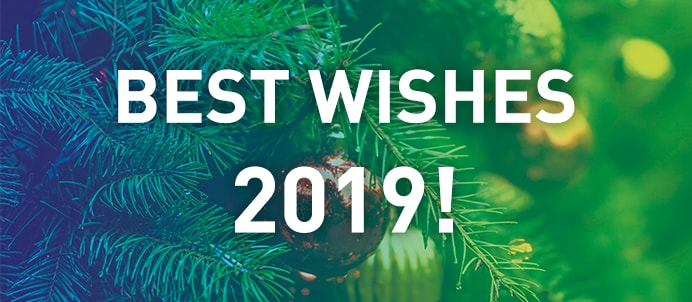 Best wishes 2019!
